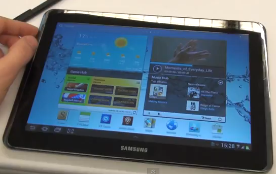 Samsung Galaxy Note 10.1 Hands On